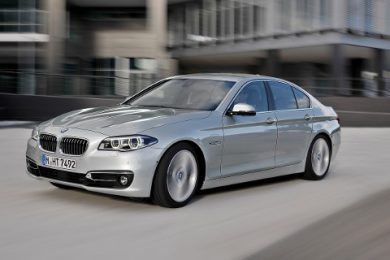 BMW 5-serie facelift