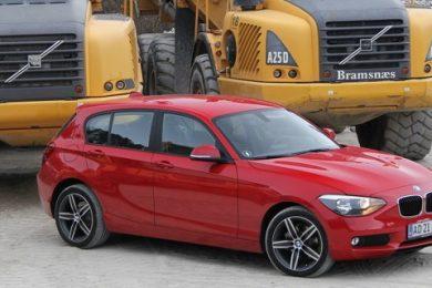 BMW 114d test