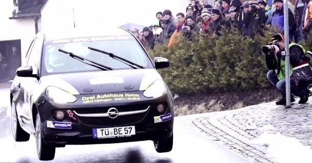 Flot placering til danskere i Opel Rallye Cup