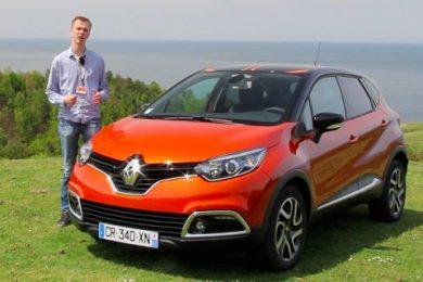 Renault Captur videotest