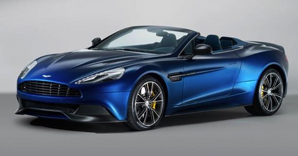 Aston Martin viser første billeder af Vanquish Volante