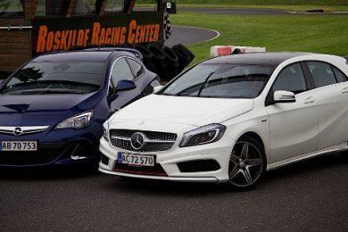 Mercedes A250 Sport mod Opel Astra OPC