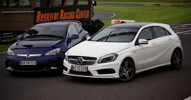 Duel: Opel Astra OPC vs. Mercedes A250 Sport
