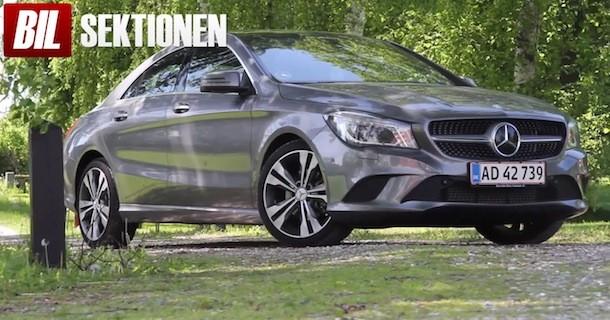 Videotest af Mercedes CLA