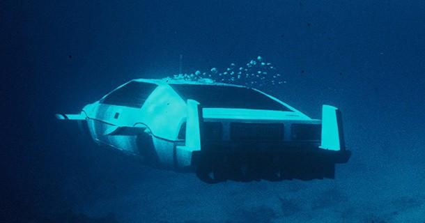 James Bonds Lotus Esprit sat til salg