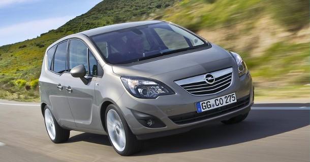 Opel lancerer Meriva til under 200.000 kr.