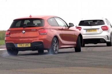 BMW M135i mod Mercedes A45 AMG
