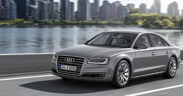 Facelift til Audi A8