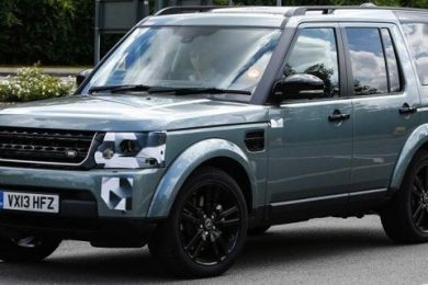 Land Rover Discovery i faceliftet udgave