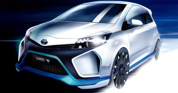Toyota Yaris Hybrid med 400 hestekræfter