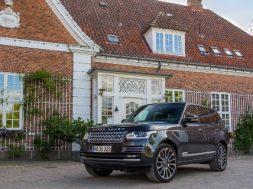 Range Rover test