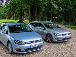 VW Golf Variant og VW Golf BlueMotion