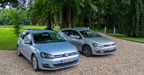 First drive: VW Golf BlueMotion & Variant