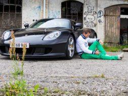 Mads Peter Veiby og Porsche Carrera GT