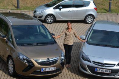 Opel Astra Zafira Meriva Limited