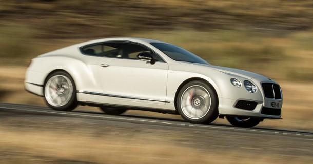Sportsligere V8-Bentley