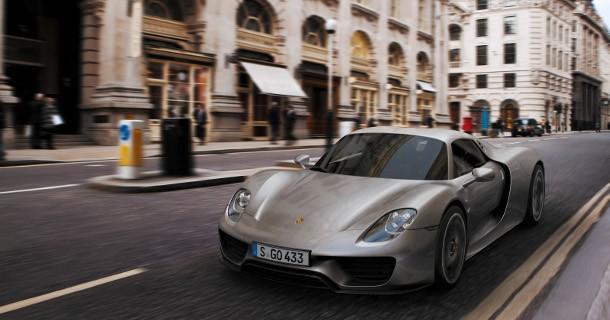 Porsche 918 Spyder, den hurtigste Porsche til dato!