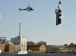 Volvos CEO som stuntmand