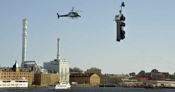 Se Volvos CEO som stuntmand!