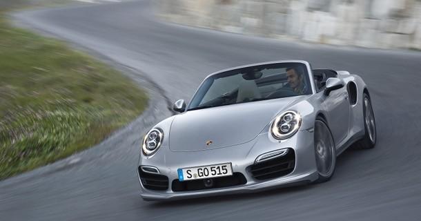 Ny 911 Turbo Cabriolet den kraftigste åbne 911 nogensinde