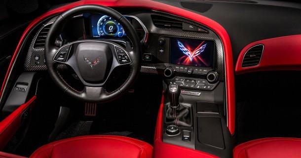 Syvtrins dobbeltkoblingsgearkasse til Corvette C7