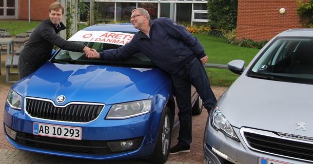 Årets Bil i Danmark 2014 er Octavia