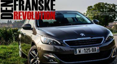 Peugeot 308 i Bilsektionen Magasinet oktober