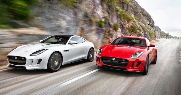 Jaguar løfter sløret for F-Type coupé