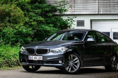 BMW 320i GT test