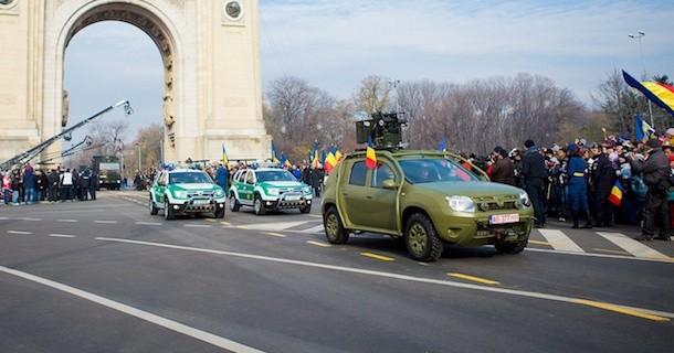 Dacia Duster frem for Humvee