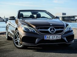 Mercedes E400 Cabriolet test