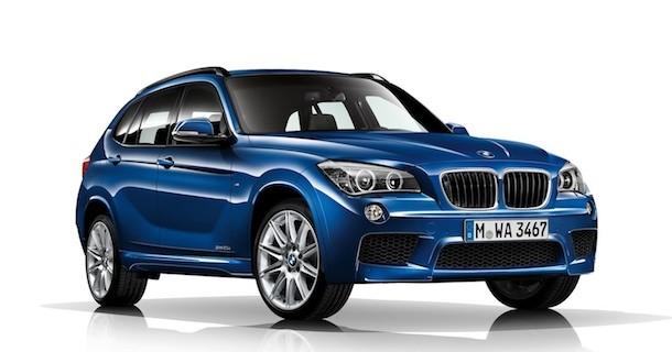 Mindre facelift til BMW X1