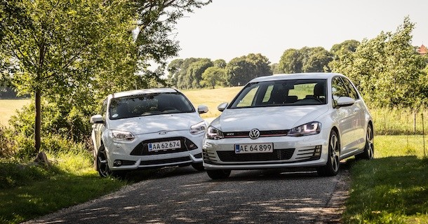 Duel: VW Golf GTI vs. Ford Focus ST