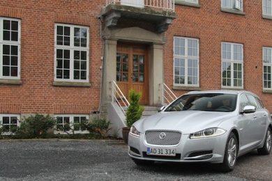 jaguar xf sportbrake test diesel