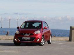 Nissan Micra test