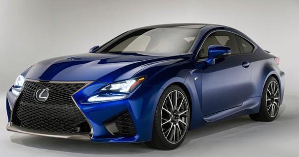 Lexus RC-F er klar til kamp mod BMW og Audi
