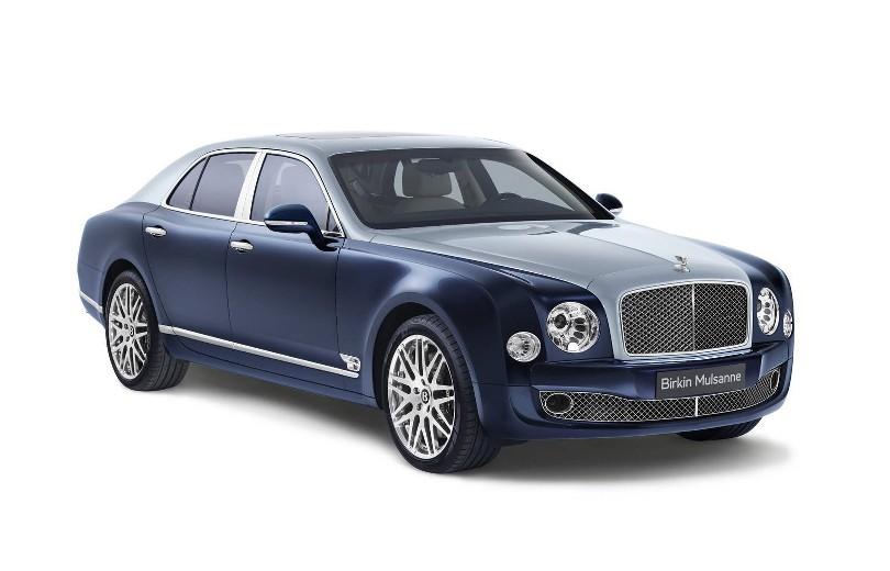 Dronningens Bentley i særudgave
