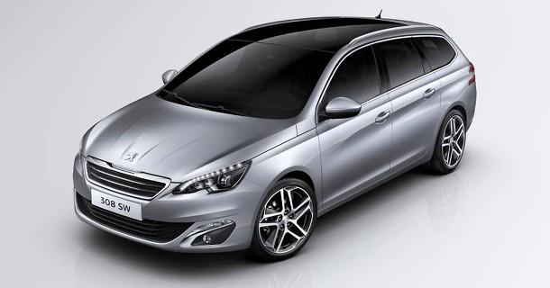 610 liter i ny Peugeot stationcar