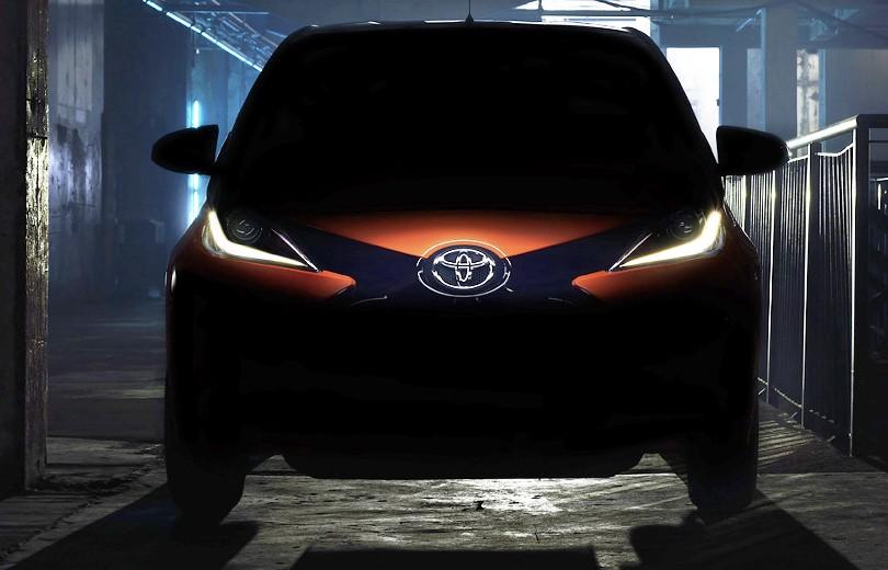Her er næste generation af Toyota Aygo