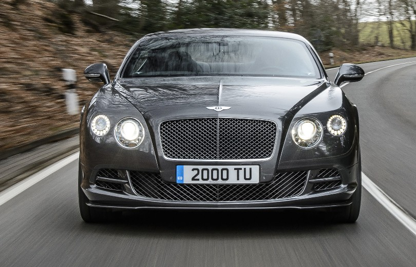 626 hk i ny Bentley Continental GT Speed