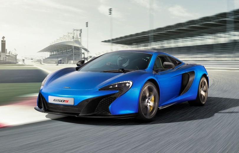 Se billederne af McLarens nye superbil