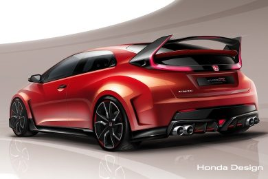 Honda Civic Type R koncept