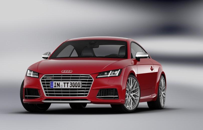 Første billeder af den nye Audi TT
