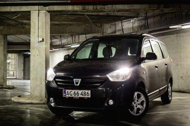 Dacia Lodgy test