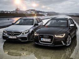 Audi RS6 vs. Mercedes-Benz E63 AMG S 4MATIC