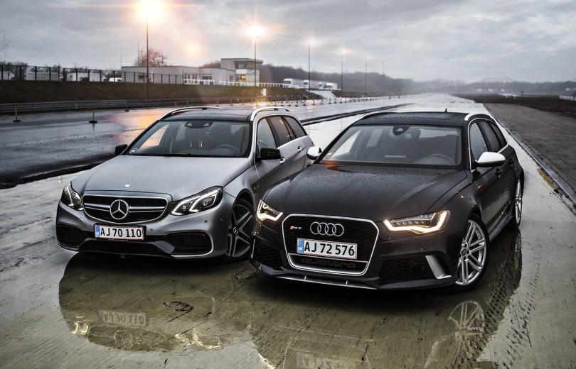 Test: Audi RS6 vs. Mercedes-Benz E63 AMG S 4MATIC