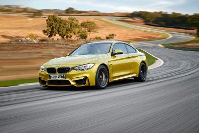 BMW M4 på Nürburgring