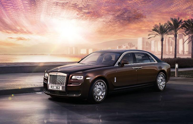 Facelift til Rolls-Royce Ghost