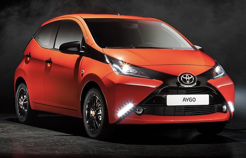 Ny Toyota Aygo med navigation uden merpris