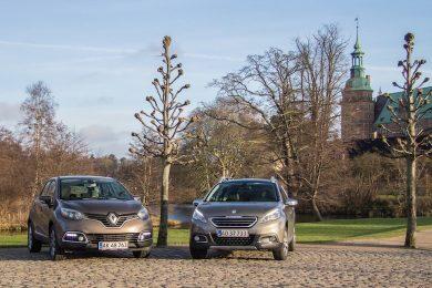 Renault Captur mod Peugeot 2008